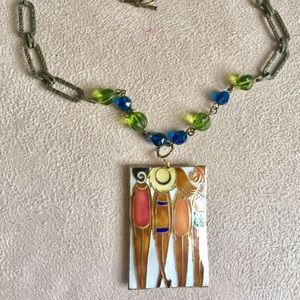 Ladies Day Out Pendant Necklace
